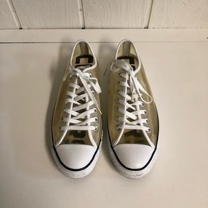 Converse All Star Clear OX Transparent Sneakers